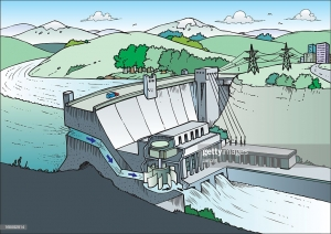 The Hydroelectric Dam as a Metaphor for Social Credit